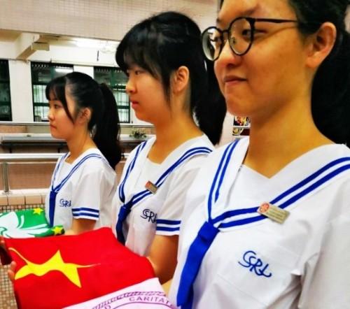"""May Fourth Movement"" Flag Raising Ceremony"
