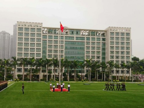 Visit to the People's Liberation Army Macao Garrison
