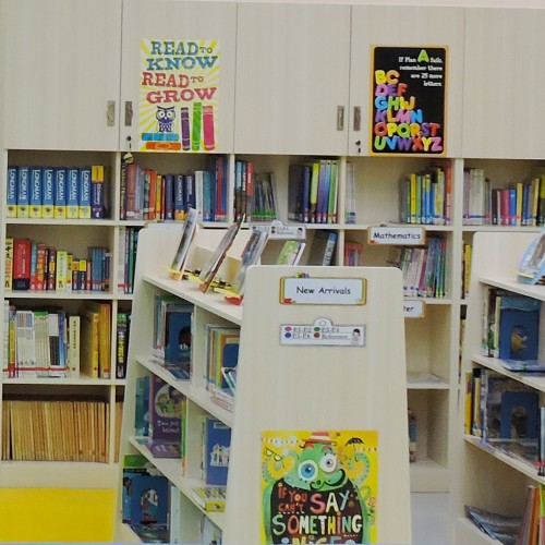 Newly Refurbished Primary Library Opens!